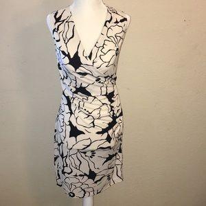 floral cross dress